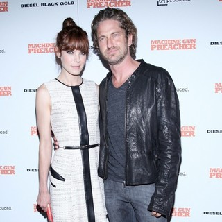 Michelle Monaghan, Gerard Butler in Screening of Machine Gun Preacher - Arrivals