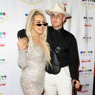 Jake Paul and Tana Mongeau Celebrate Wedding Reception