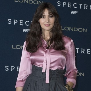 Monica Bellucci in London Photocall of Spectre