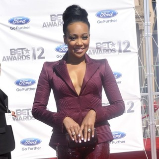 Monica in The BET Awards 2012 - Arrivals - monica-bet-awards-2012-02