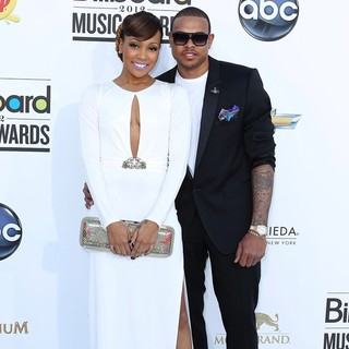 Monica, Shannon Brown in 2012 Billboard Music Awards - Arrivals