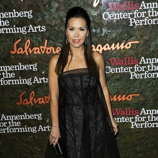 Monique Lhuillier in Opening Night Gala of The Wallis Annenberg Center for The Performing Arts