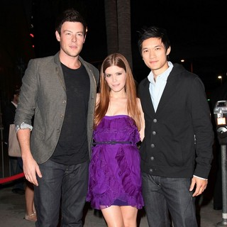 Cory Monteith, Kate Mara, Harry Shum Jr. in Premiere of FX's American Horror Story