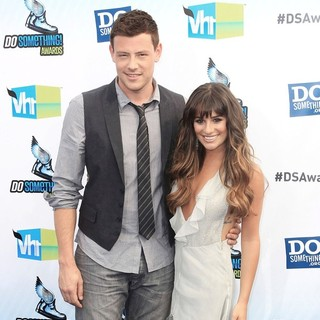 Cory Monteith, Lea Michele in The DoSomething.org and VH1's 2012 Do Something Awards