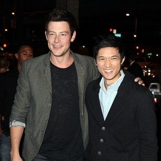 Cory Monteith, Harry Shum Jr. in Premiere of FX's American Horror Story
