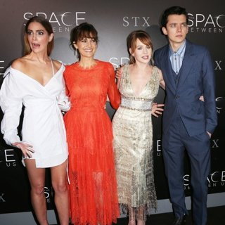 Janet Montgomery, Carla Gugino, Brittany Robertson, Asa Butterfield-Premiere of STX Entertainment's The Space Between Us
