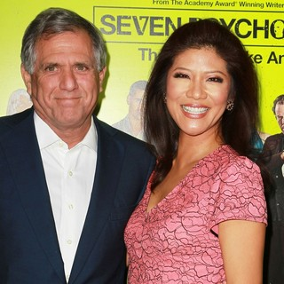 Leslie Moonves, Julie Chen in Seven Psychopaths Los Angeles Premiere - Arrivals