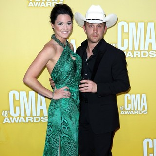 Kate Moore, Justin Moore in 46th Annual CMA Awards