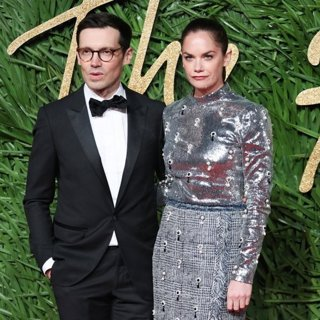 Erdem Moralioglu, Ruth Wilson in The British Fashion Awards 2017 - Arrivals