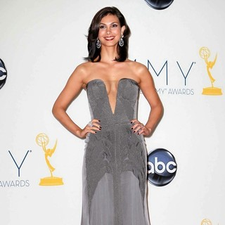 Morena Baccarin in 64th Annual Primetime Emmy Awards - Press Room