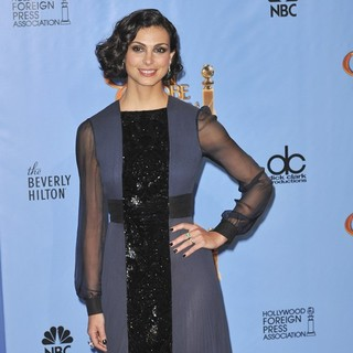 Morena Baccarin in 70th Annual Golden Globe Awards - Press Room
