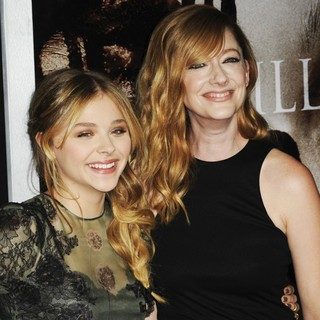 Chloe Moretz, Judy Greer in Premiere of Metro-Goldwyn-Mayer Pictures' and Screen Gems' Carrie