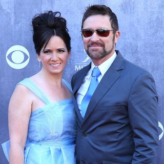 Karen Morgan, Craig Morgan in 49th Annual Academy of Country Music Awards - Arrivals
