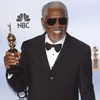 Morgan Freeman in The 69th Annual Golden Globe Awards - Press Room