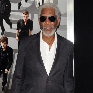 Morgan Freeman in New York Premiere of Now You See Me