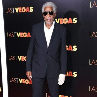 Morgan Freeman in The Last Vegas New York Premiere