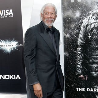 Morgan Freeman in The Dark Knight Rises New York Premiere - Arrivals