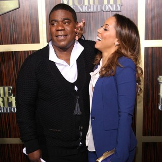 Tracy Morgan, Megan Wollover in Spike TV's Eddie Murphy: One Night Only