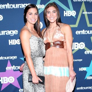 Alex Morgan, Hope Solo in Final Season Premiere of HBO's Entourage