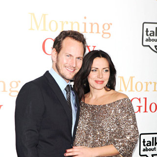 Patrick Wilson, Dagmara Dominczyk in The World Premiere of 'Morning Glory' - Arrivals