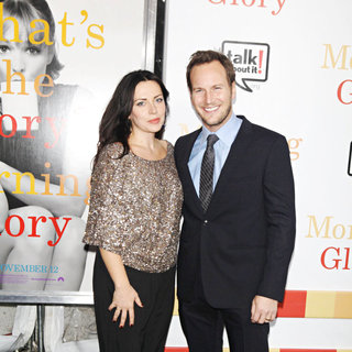 Dagmara Dominczyk, Patrick Wilson in The World Premiere of 'Morning Glory' - Arrivals
