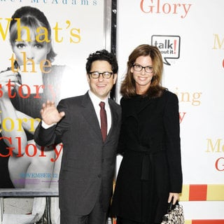 J.J. Abrams, Katie McGrath in The World Premiere of 'Morning Glory' - Arrivals