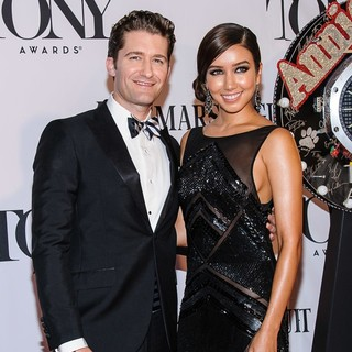 Matthew Morrison, Renee Puente in The 67th Annual Tony Awards - Arrivals