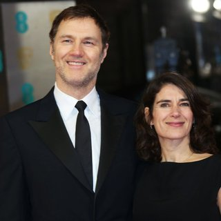 David Morrissey, Esther Freud in EE British Academy Film Awards 2014 - Arrivals