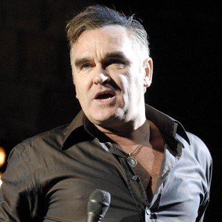 Morrissey in Morrissey Performing Live at Santa Barbara Bowl