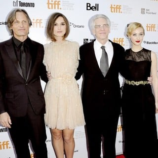 Viggo Mortensen, Keira Knightley, David Cronenberg, Sarah Gadon in 36th Annual Toronto International Film Festival - A Dangerous Method - Premiere Arrivals