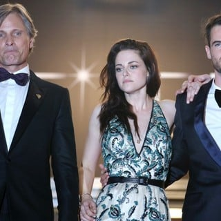 Viggo Mortensen, Kristen Stewart, Tom Sturridge in On the Road Premiere - During The 65th Cannes Film Festival