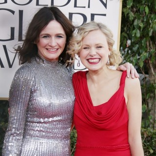 Emily Mortimer, Alison Pill in 70th Annual Golden Globe Awards - Arrivals