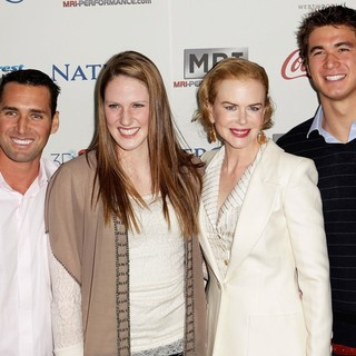 Merrill Moses, Missy Franklin, Nicole Kidman, Nathan Adrian in Gold Meets Golden Event