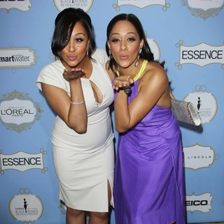 Tamera Mowry, Tia Mowry in 6th Annual Essence Black Women in Hollywood Luncheon