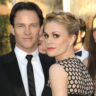 Stephen Moyer, Anna Paquin in 21st Annual Elton John AIDS Foundation's Oscar Viewing Party