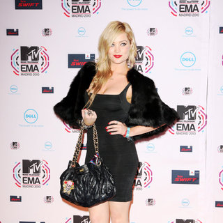 Laura Whitmore in MTV Europe Music Awards 2010 - Arrivals