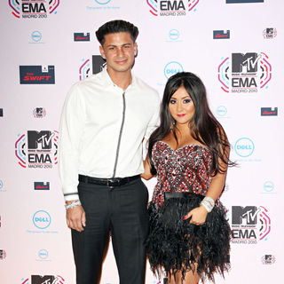 DJ Pauly D, Snooki in MTV Europe Music Awards 2010 - Arrivals