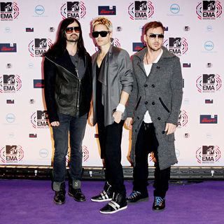 30 Seconds to Mars in MTV Europe Music Awards 2010 - Arrivals