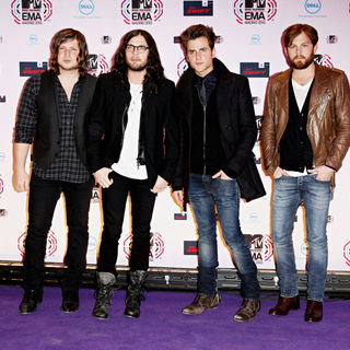Kings of Leon in MTV Europe Music Awards 2010 - Arrivals