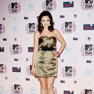 Kelly Brook in MTV Europe Music Awards 2010 - Arrivals