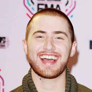 Mike Posner in MTV Europe Music Awards 2010 - Press Room