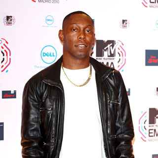 Dizzee Rascal in MTV Europe Music Awards 2010 - Press Room