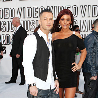 The Situation, JWoww in The 2010 MTV Video Music Awards (MTV VMAs) - Arrivals