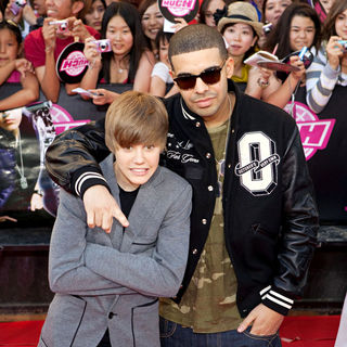 Justin Bieber, Drake in 2010 MuchMusic Video Awards - Red Carpet Arrivals