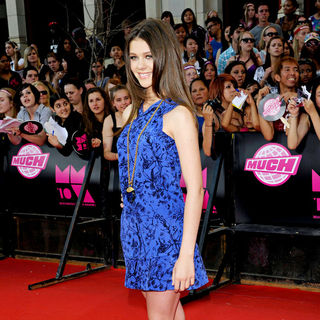 Nicola Peltz in 2010 MuchMusic Video Awards - Red Carpet Arrivals