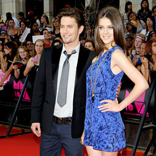 Jackson Rathbone, Nicola Peltz in 2010 MuchMusic Video Awards - Red Carpet Arrivals