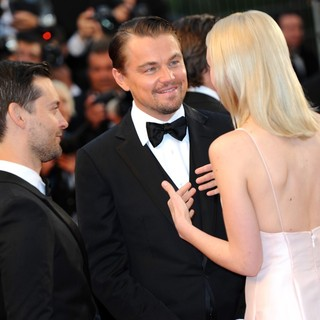 Tobey Maguire, Leonardo DiCaprio, Carey Mulligan in Opening Ceremony of The 66th Cannes Film Festival - The Great Gatsby - Premiere