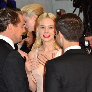 Leonardo DiCaprio, Carey Mulligan, Tobey Maguire in Opening Ceremony of The 66th Cannes Film Festival - The Great Gatsby - Premiere