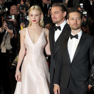 Carey Mulligan, Leonardo DiCaprio, Tobey Maguire in Opening Ceremony of The 66th Cannes Film Festival - The Great Gatsby - Premiere
