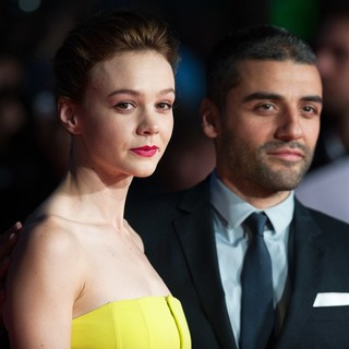 Carey Mulligan, Oscar Isaac in 57th BFI London Film Festival - Inside Llewyn Davis Premiere - Arrivals